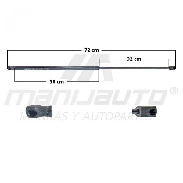 Amortiguador Cofre A6 AUDI 35097