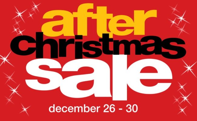 Metro Department Store After Christmas Sale December 2012