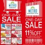 Metro Department Store Supermarket One Day Sale June