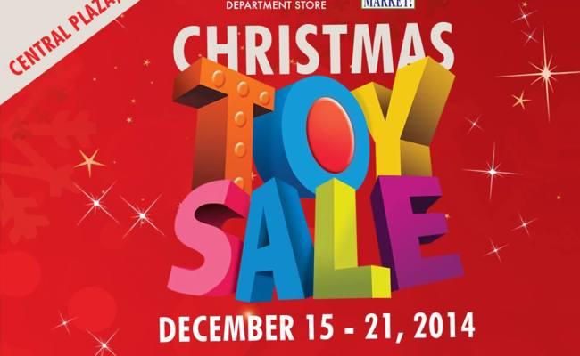 Metro Department Store Christmas Toy Sale Market Market
