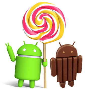 android lollipop finalmente supera versão kitkat Android Lollipop finalmente supera versão KitKat Android Lollipop vs Android KitKat