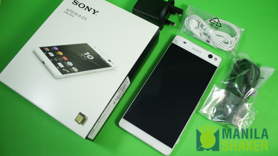 Sony Xperia C5 Ultra Unboxing, First Impressions, Size