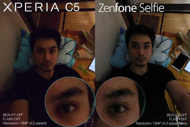 Zenfone Selfie vs Xperia C5 philippines