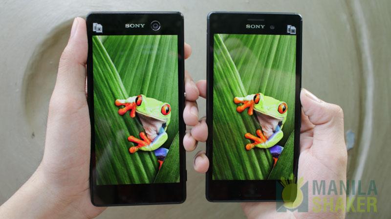 Kindle Vs Sony Reader: Sony Xperia M5 VS M4 Aqua Camera Review Comparison