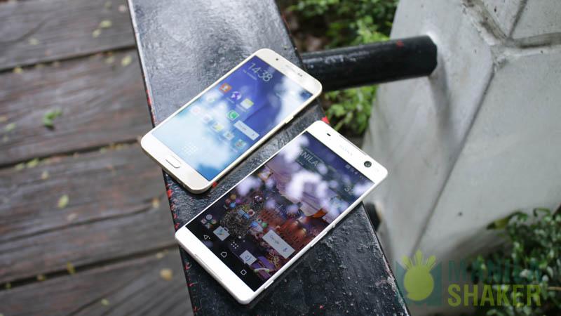 Sony Xperia C5 Ultra dual VS Samsung Galaxy A8 Comparison, Camera