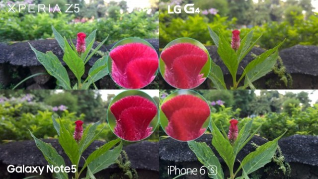 xperia z5 lg g4 iphone 6s galaxy note 5 camera review comparison12