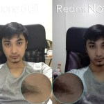 front facing selfie camera iphone 6s vs redmi note 3