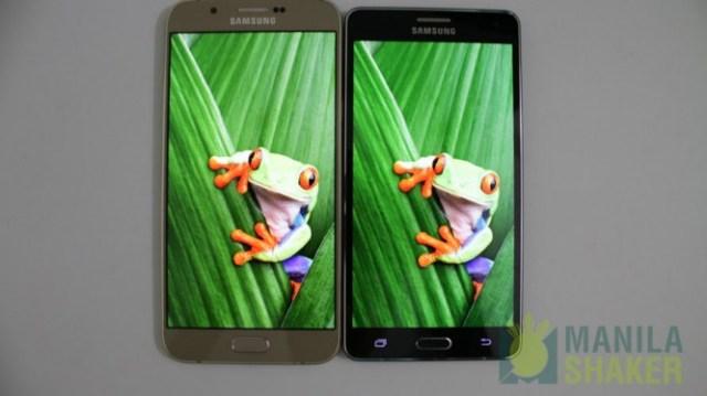 samsung galaxy a8 vs galaxy a7 comparison camera review11