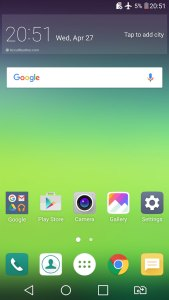 LG G5 Android 6 Marshmallow UI Optimus screenshot 3