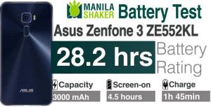 Asus Zenfone 3 Battery Life Rating Review Charging Speed