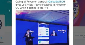 Pokemon Go Globe Switch Free Data Access Philippines