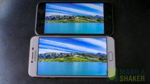 Samsung Galaxy C5 C7 Review vs iPhone 6s Comparison 12