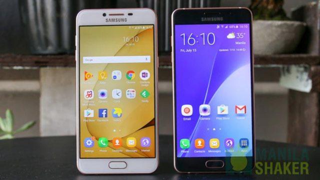 Samsung Galaxy C5 vs Galaxy A5 2016 Review Comparison PH Official 2