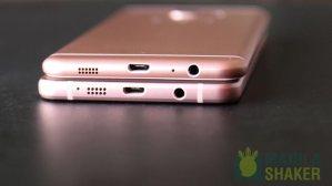 close up USB Samsung Galaxy C5 vs Galaxy A5 2016 Review Comparison PH Official 5