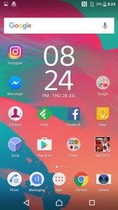 Sony Xperia XA Screenshot Android 6.0 Marshmallow OS review 16