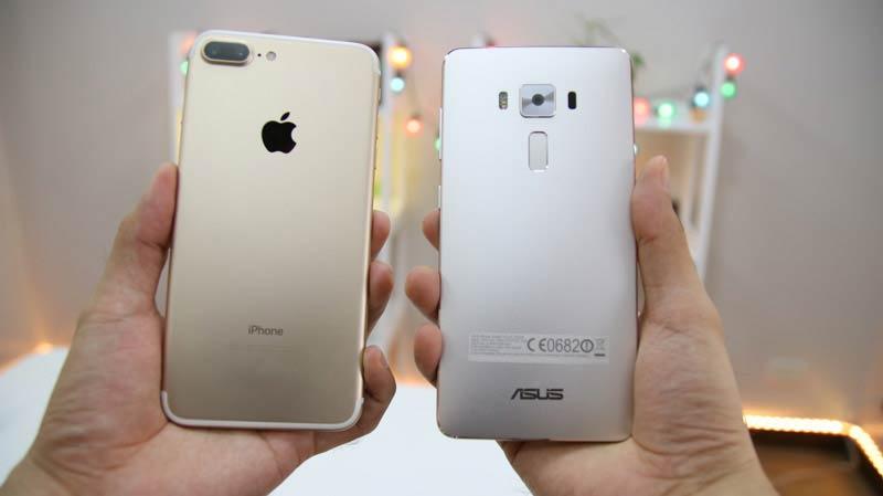 Asus Zenfone 3 Deluxe Vs Iphone 7 Plus Comparison Camera