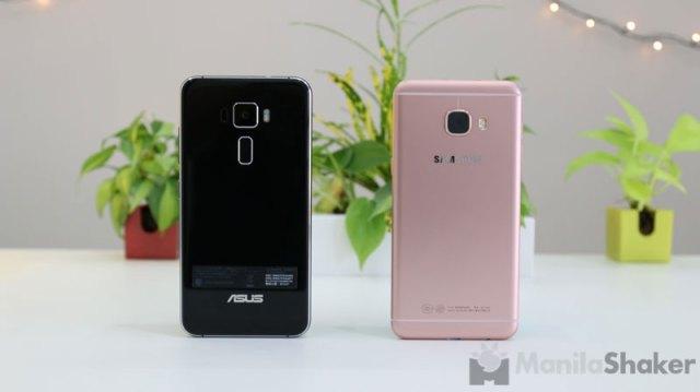 Asus Zenfone 3 vs Samsung Galaxy C5 review comparison camera ph 2