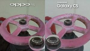Samsung Galaxy C5 vs Oppo F1s Camera Review Comparison Selfie