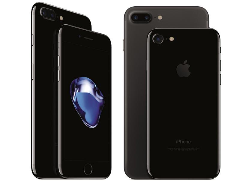 Iphone 7 jet black vs iphone 7 plus jet black