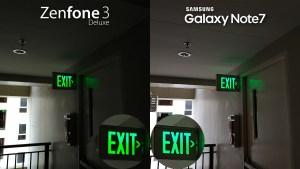 Asus Zenfone 3 Deluxe vs Samsung Galaxy Note 7 Camera Review Comparison Low Light