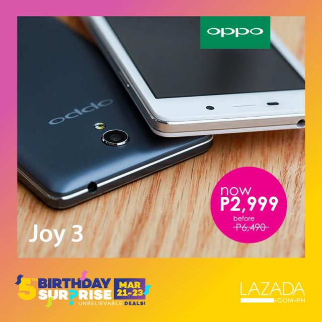 oppo-offers-50-select-smartphones-joins-lazada-5th-birthday-anniversary-sale