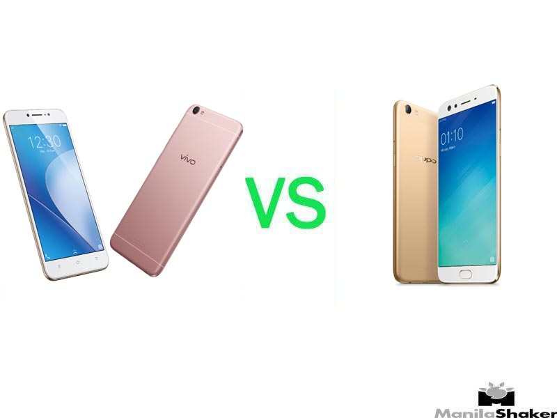 OPPO F3 Plus vs Vivo V5 Plus Specs, Price Comparison