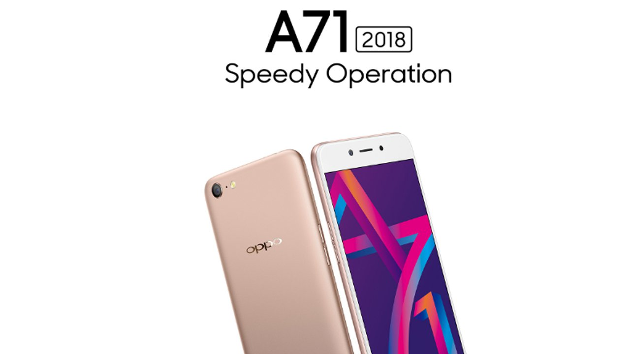 Oppo A71 2018 With 3gb Ram Launched In India