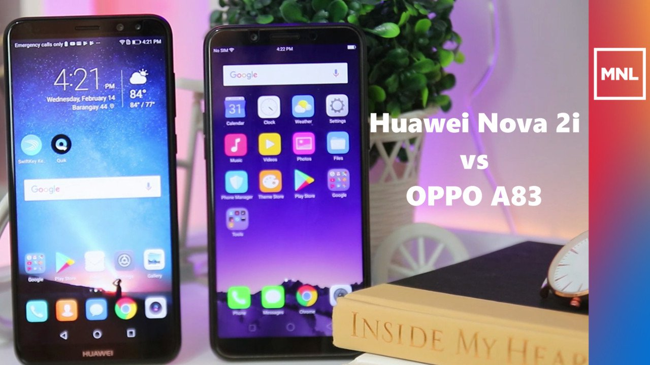 Huawei Nova 2i vs OPPO A83 - Comparison Review