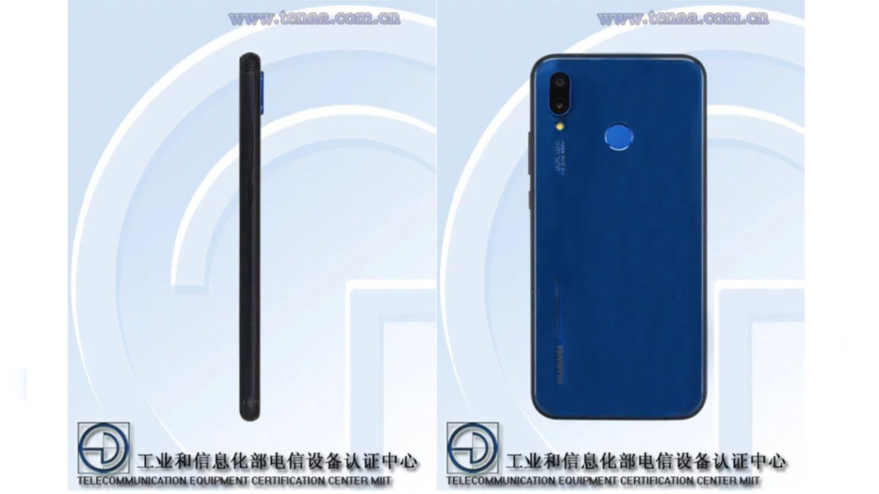 Huawei P20 Lite spotted on TENAA with specs and photos