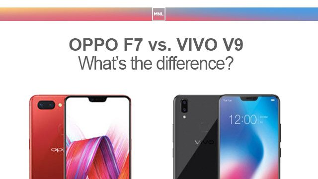 7fbecd53b0c OPPO F7 vs VIVO V9  Specs Comparison