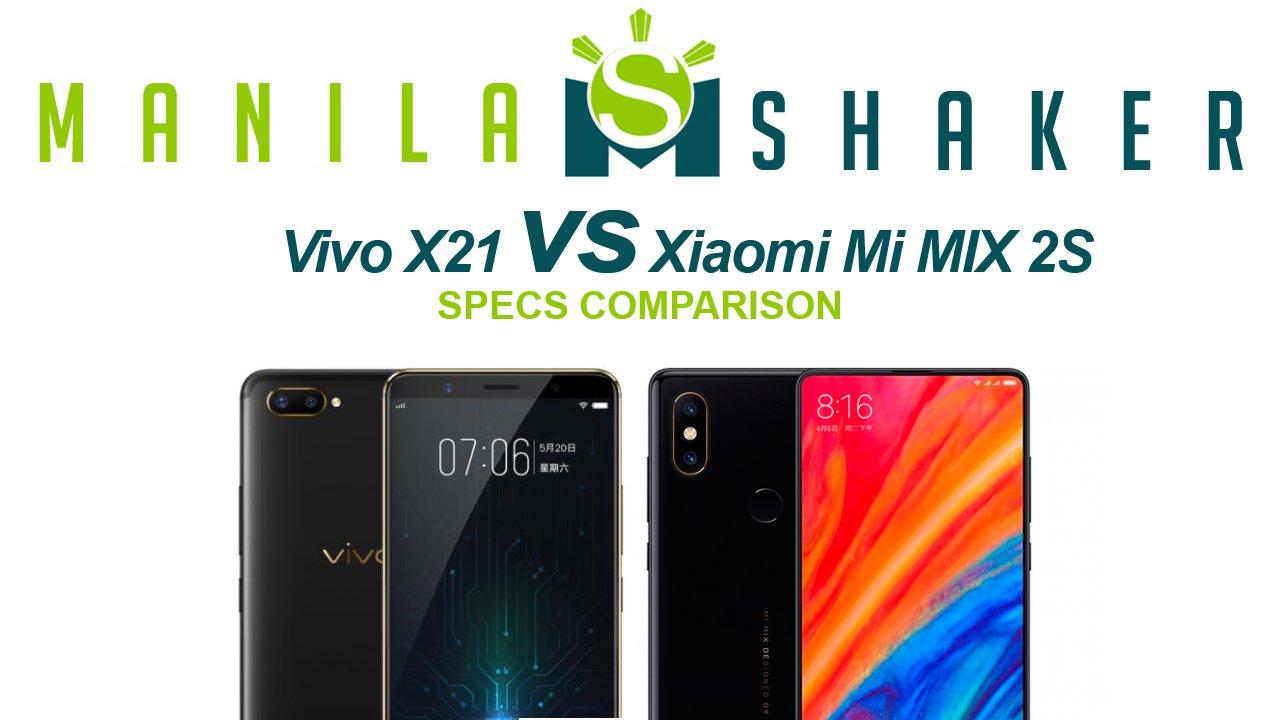 Vivo X21 Vs Xiaomi Mi Mix 2s Specs Comparison
