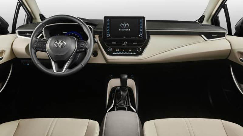 all new corolla altis 2020 grand veloz 1.3 mt toyota launched with design photos pricing infotainment gauge cluster digital display