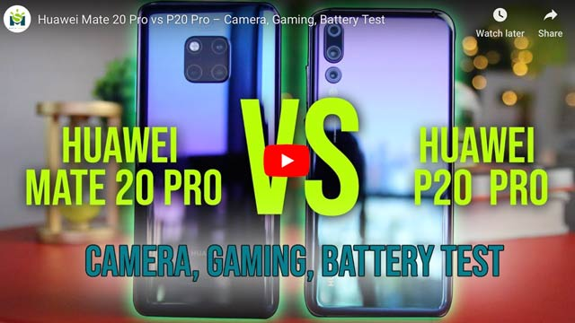 Video  Huawei Mate 20 Pro Review  Huawei P20 Pro Comparison