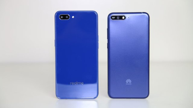 Realme C1 vs Huawei Y6 2018 comparison review camera ph3
