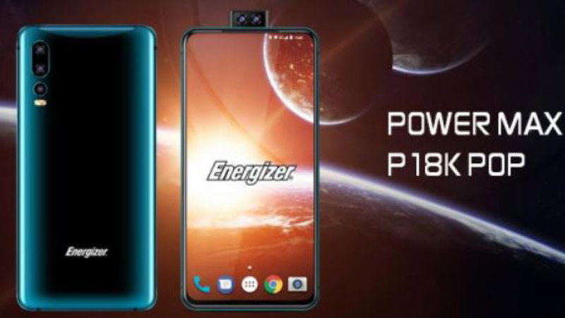 Energizer Power Max P18k Pop officially launched: 18000 mAh battery