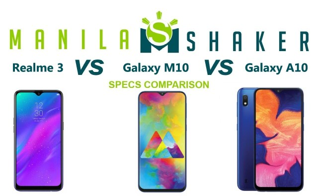 realme-3-vs-galaxy-m10-vs-galaxy-a10-specs-comparison