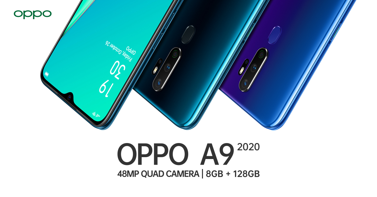OPPO Philippines to launch A9 2020 and A5 2020 with ...