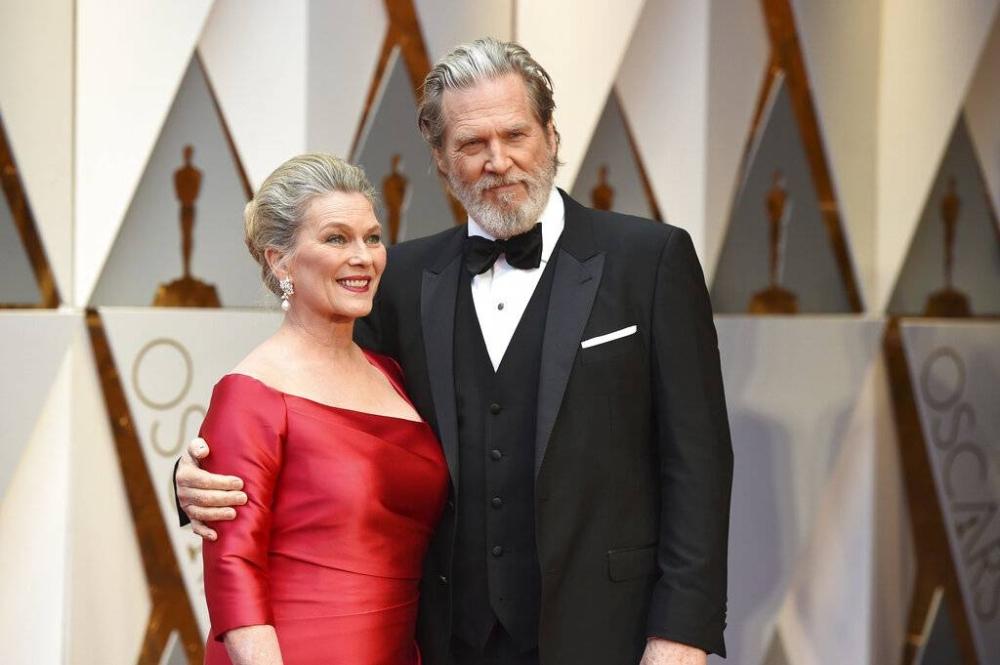 Susan Geston and Jeff Bridges AP PHOTO