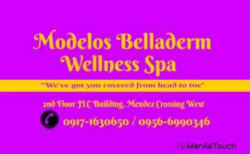 modelos belladerm wellness spa crossing west manila touch philippines massage image