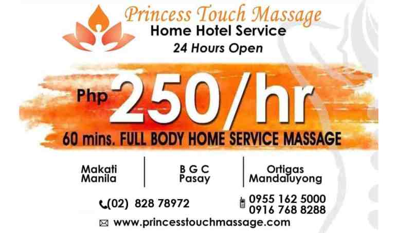 Princess Touch Home Service Massage