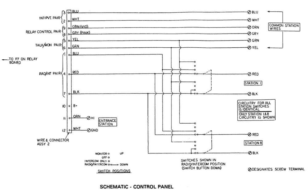 medium resolution of intercom control panel schematic jpg