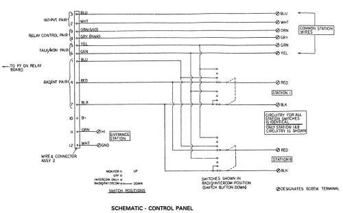 small resolution of intercom control panel schematic jpg