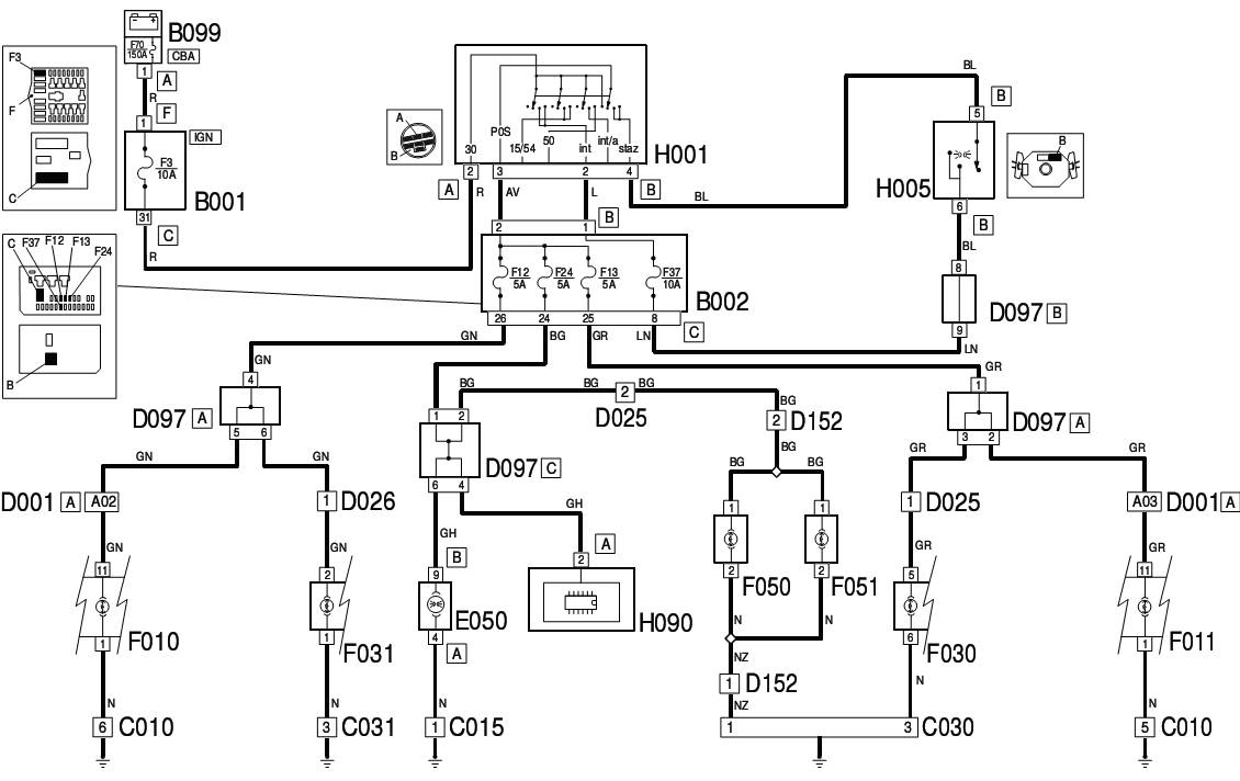 Fiat Palio 16 16v Wiring Diagram The FIAT Car