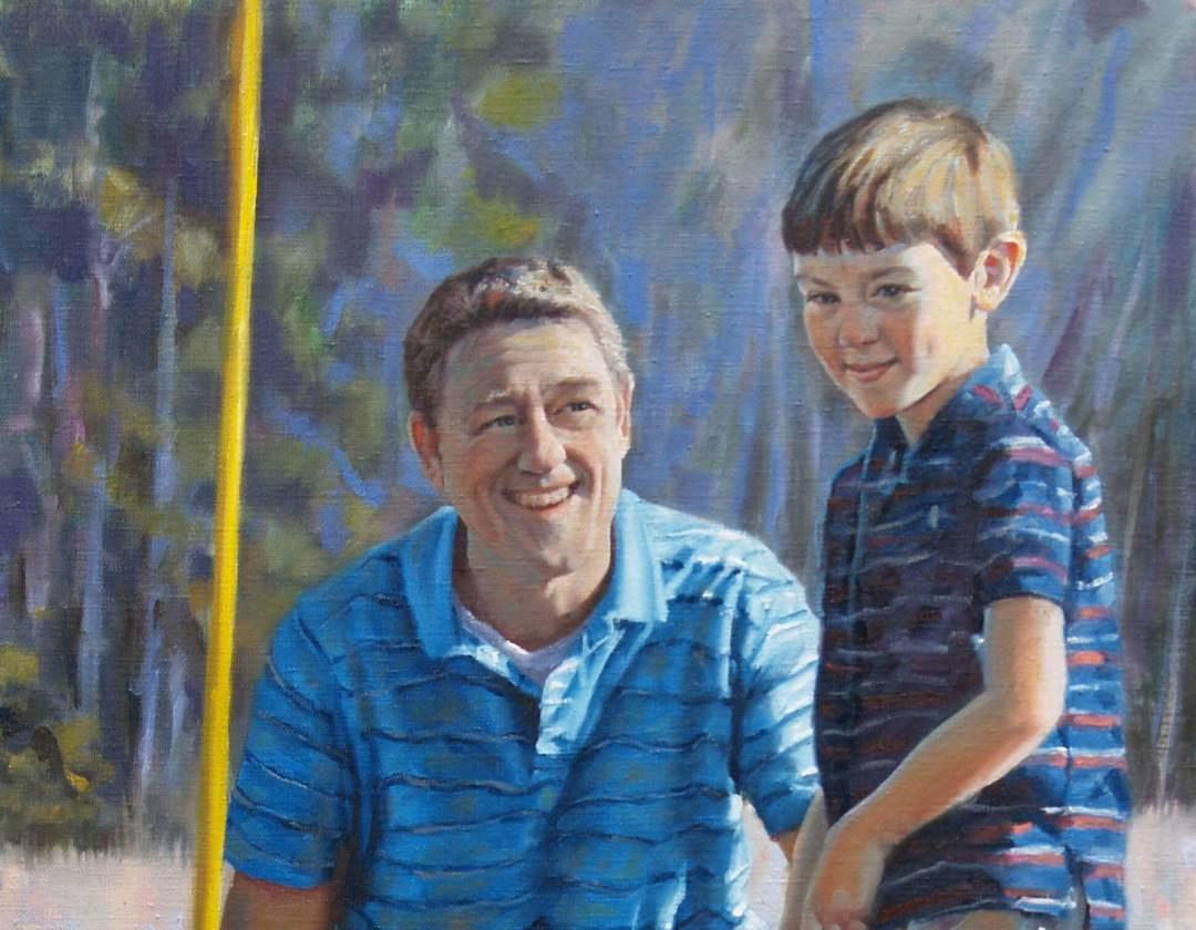 portrait paintter