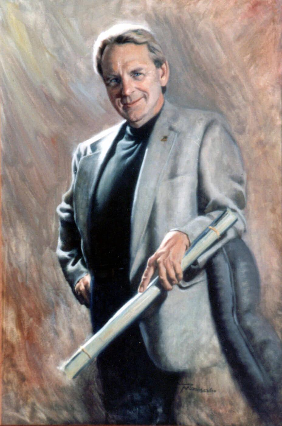portrait painter of men