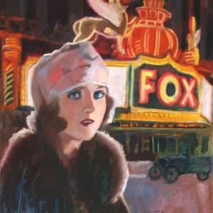 Carole lumbard at the fox