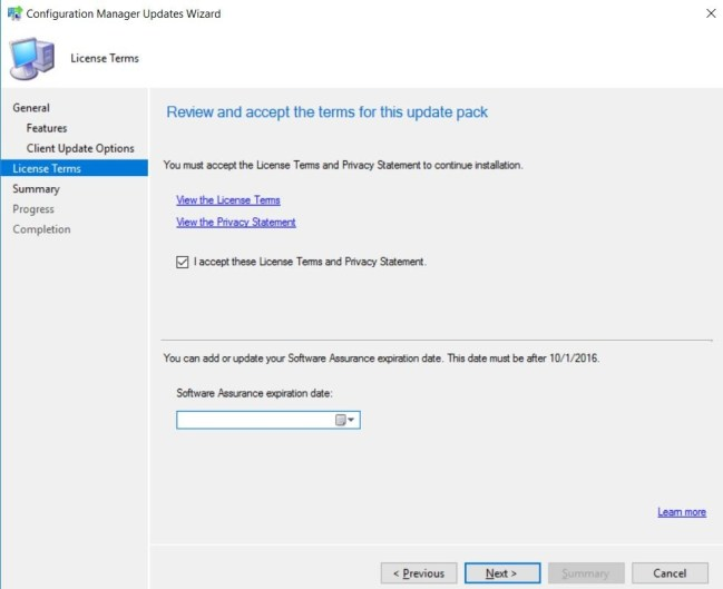 SCCM (System Center Configuration Manager) 1710 Step by Step Upgrade Guide 15