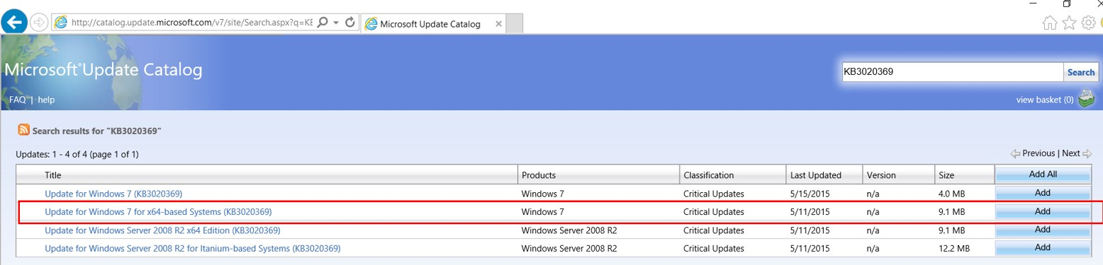 Windows 7: Creating Fully patched Image by Slipstream in the Convenience Rollup and Quality Rollup 1