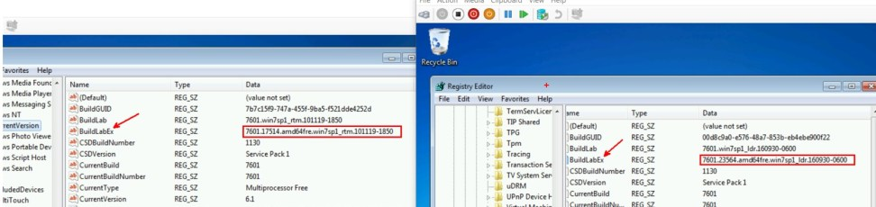 Windows 7: Creating Fully patched Image by Slipstream in the Convenience Rollup and Quality Rollup 14