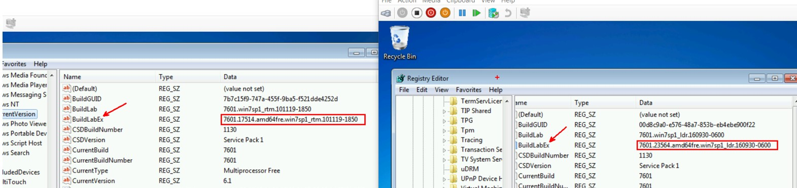 Windows 7: Creating Fully patched Image by Slipstream in the Convenience Rollup and Quality Rollup 15